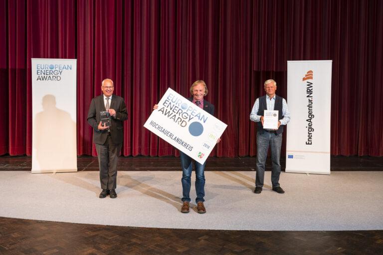 Hochsauerlandkreis erhält European Energy Award