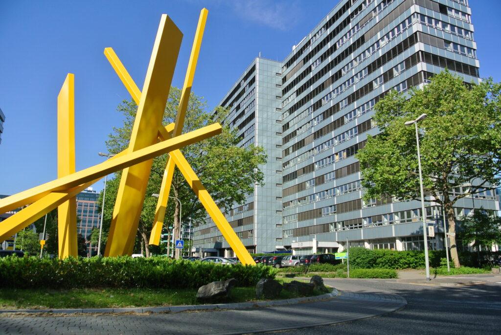 Gebäude des Bundesamts für Wirtschaft und Ausfuhrkontrolle in Eschborn
