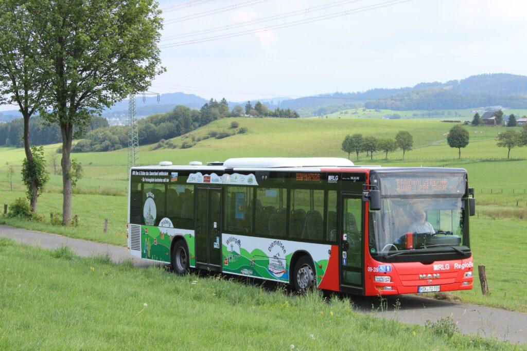 Regionalverkehr im Sauerland, Bus (Quelle: RLG)RLG)